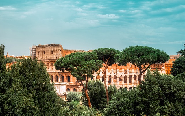 itálie koloseum