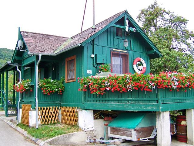 zelená chata