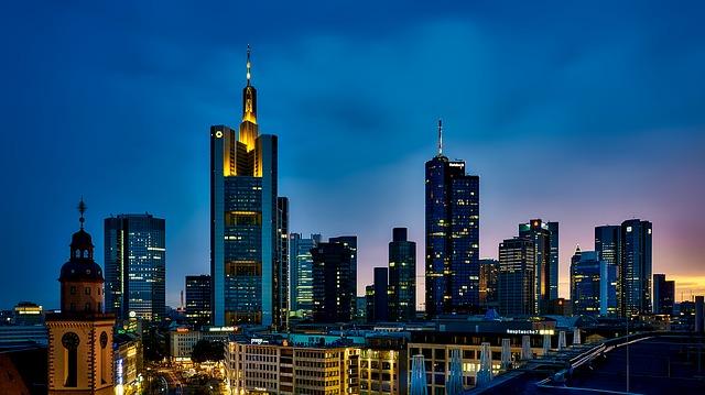 frankfurt německo