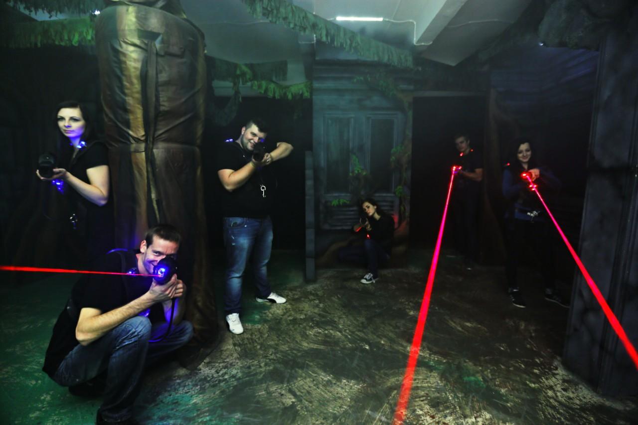 Laser game Praha 9 – zábava pro malé i velké